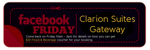 Faceboko Friday - Clarion Suites Gateway