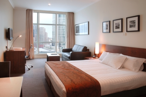 Studio River View - Clarion Suites Gateway