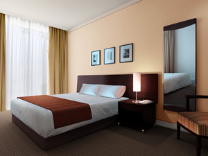 Melbourne CBD Hotel Accommodation - Riverview Suite